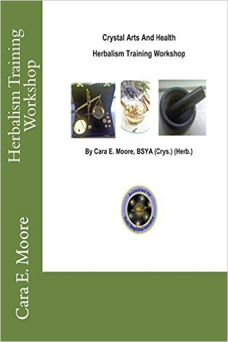 Book Cover: Crystal Arts And Health Herbalism Training Workshop