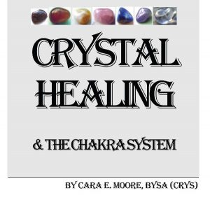 Book Cover: Crystal Healing & The Chakra System