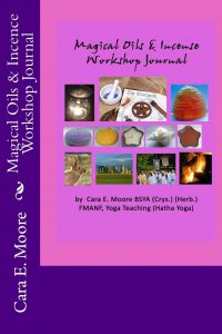 Book Cover: Magical Oils & Incense Workshop Journal