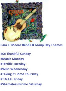 Cara E. Moore Band FB Group